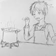 イラスト 料理 01