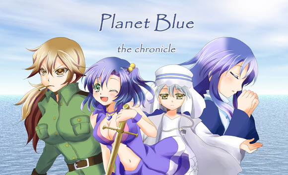 Planet Blue chronicle